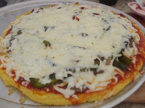 A Must Try for Polenta Lovers: Polenta Pizza
