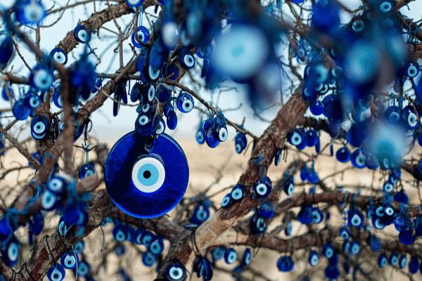 malocchio, evil eye, Italian