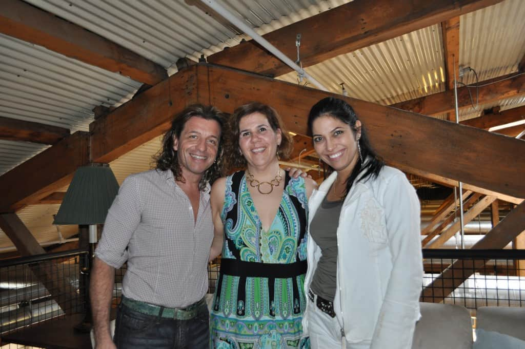 Nicky with Paolo Pecchioli and Vivica Genaux
