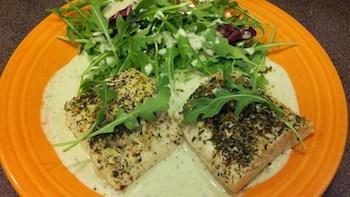 Seafood with Italian Seasoning