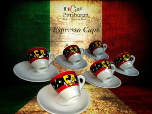 Ciao webpage product template (Espresso Cups)