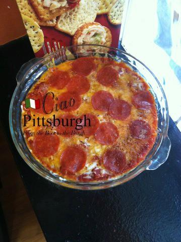 Teresa's Aroma Pizza Dip