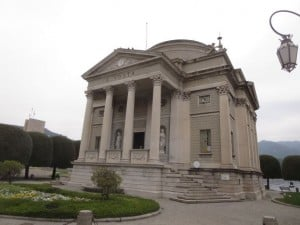 The Alessandro Volta temple/museum