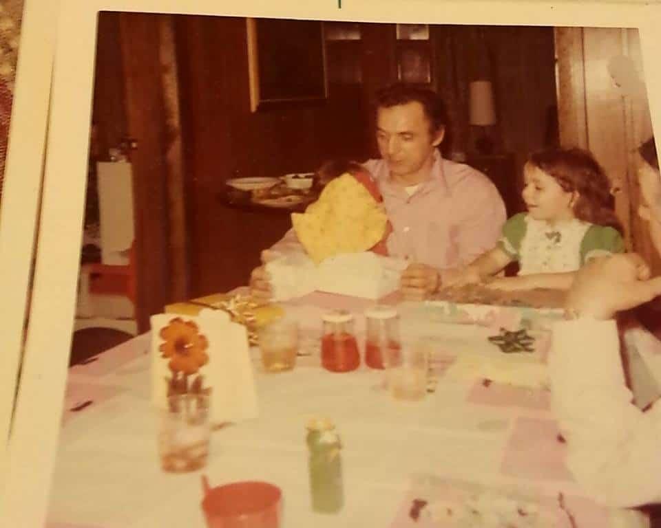 Lisa Starnino Mallinson and her dad