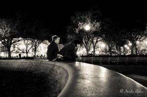 Dupont Circle in Washington, D.C. at Night