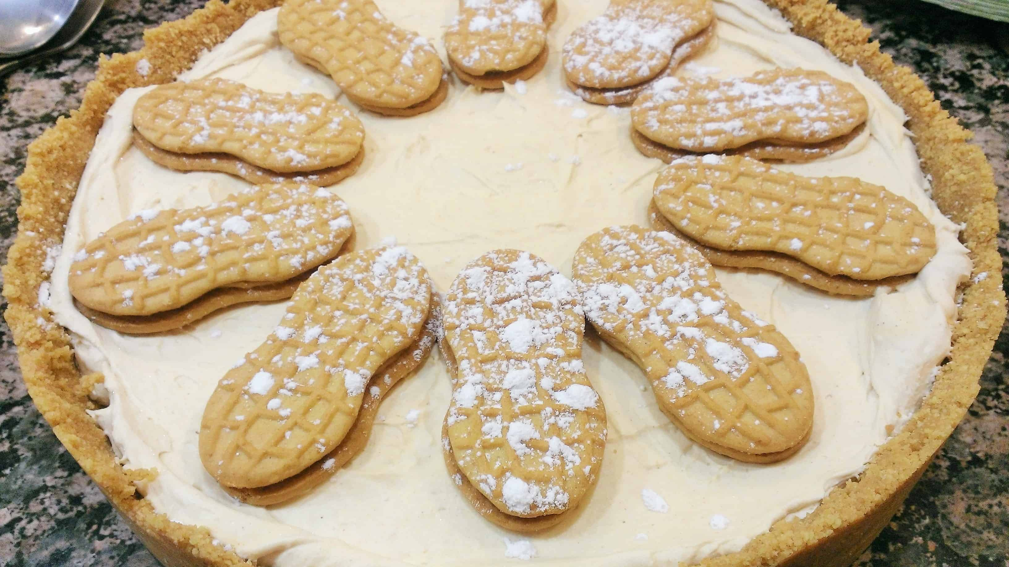 NUTTER BUTTER Frozen Peanut Butter Pie from Kraft Recipes