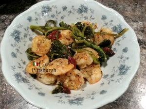 Ciao Piccante Rapini Shrimp