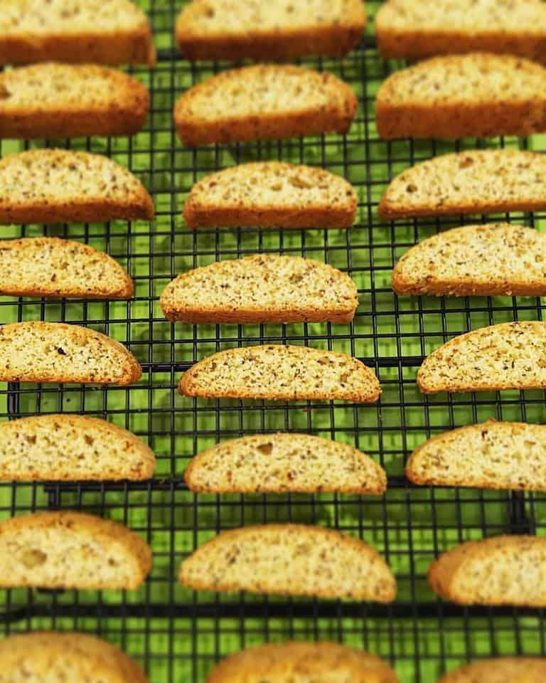 ... Cornmeal Biscotti will complement any meal and quickly become a family