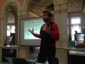 Rich Lecture Photo 2