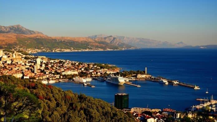 Harbour Croatia Port Haven City Split Town