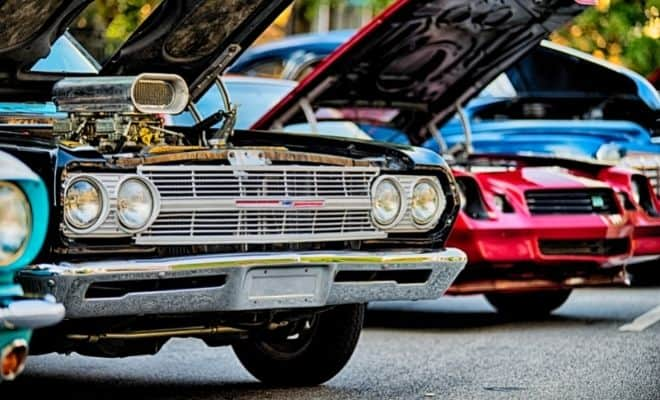 How To Display A Classic Car At A Car Show